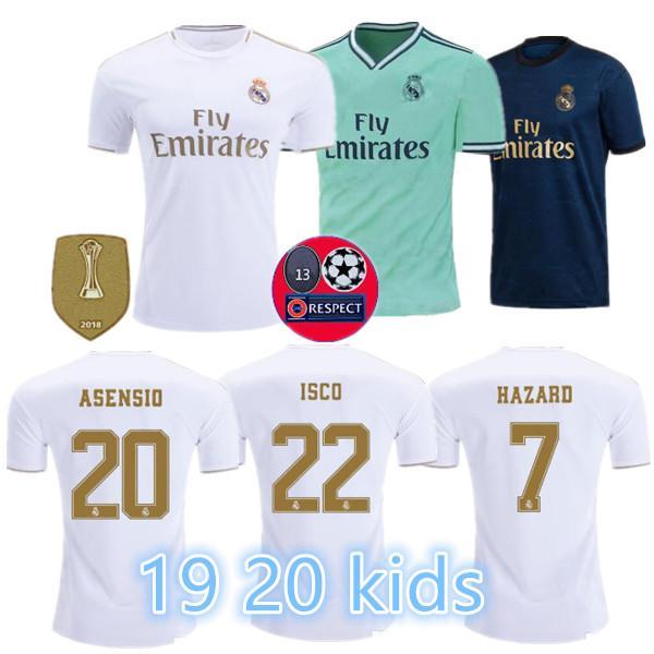 19 20 Real madrid futebol Jersey Benzema JOVIC MILITAO Modric Ramos Bale PERIGO 2019 2020 homem adulto mulher crianças menino esportes camisa de futebol
