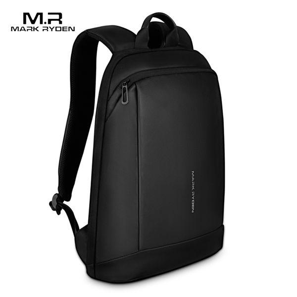 shades of stable quality best Mark Ryden Slim Laptop Backpack Men Thin Back Pack 15.6 Inch Work Man  Backpack Business Bag Unisex Black Ultralight Backpacking Backpacks  Personalized ...