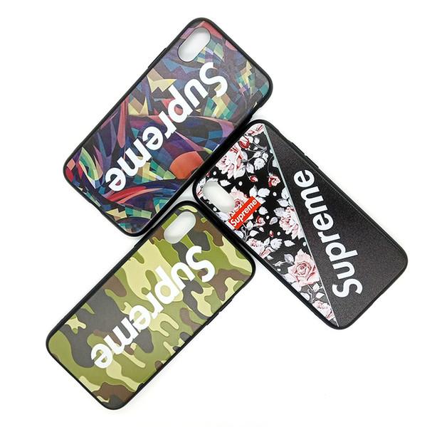 Para Iphone Xr Casos de teléfono Marca de diseñador Moda creativa Ocasional Tendencia TPU PC Caja del teléfono celular para Iphone 6 7 8 Plus Xs