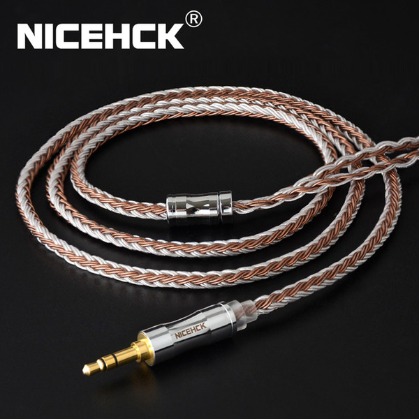 Accesorios de audio ortable Auriculares NiceHCK C16-5 16 CORE CABLE CABLE CABLE MEZCLADO 3.5 / 2.5 / 4.4mm Enchufe MMCX / 2PIN / QDC / NX7 PIN ...