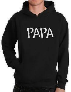 PAPA Chalk Writing Father 039 s Day Gift for Dad Grandpa Hoodie Novelty