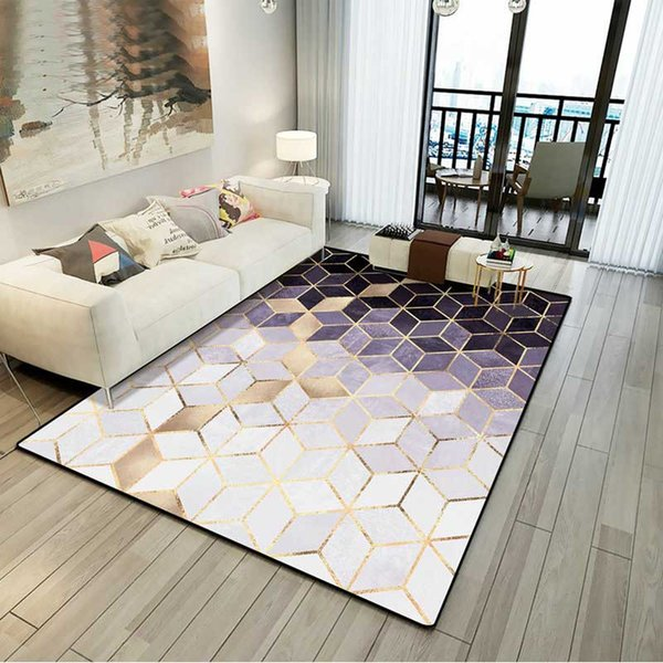 Living Room Area Rugs Carpets Tile Mat Modern Luxury Style Decoration Mat  Warmly Home Broadloom Carpet Shaw Commercial Carpet From Warmly_home, ...