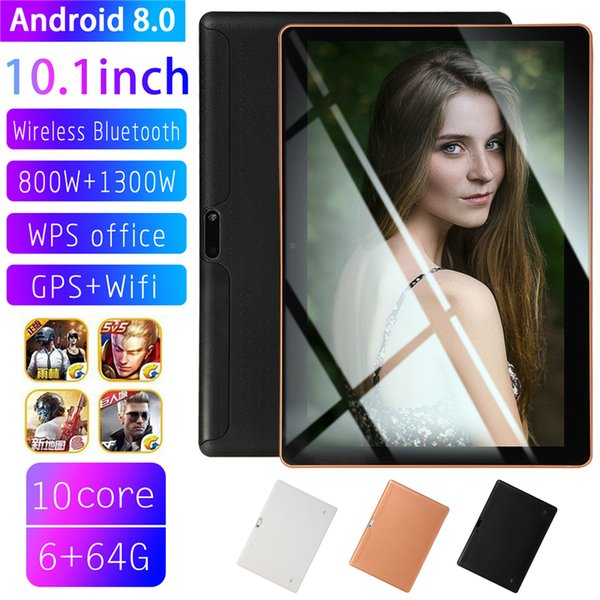 tablet 10.1 Inch IPS Screen Tablet 2+32GB Fits for Android 8.0 PT 3G WiFi Call Phone Tablet