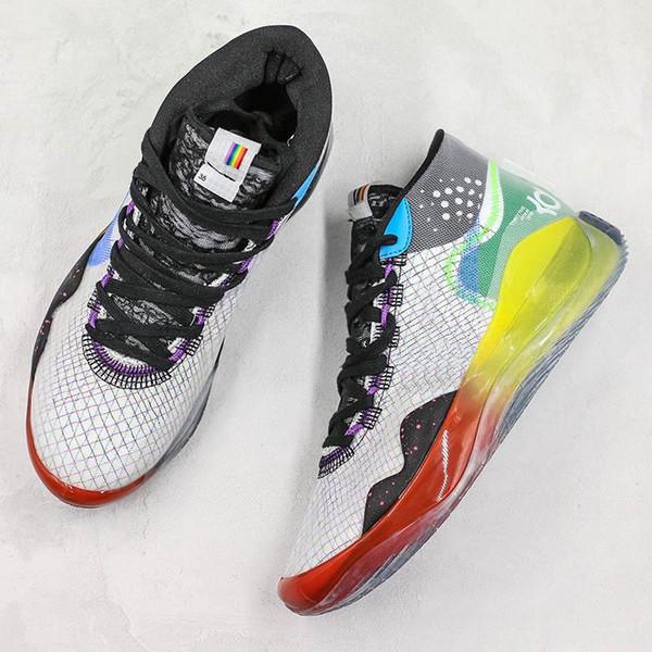 Nuovo Zoom KD12 scarpe da basket maglia di marca di modo Game Designer vincitore del bronzo sport del Mens Sneakers 40-46