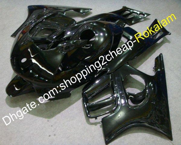 Para Honda Fairing CBR600F3 1995 1996 CBR600 F3 95 96 Carcasa CBR 600F3 Kit del mercado de accesorios de carenado de motocicleta negro brillante (moldeo por inyección)