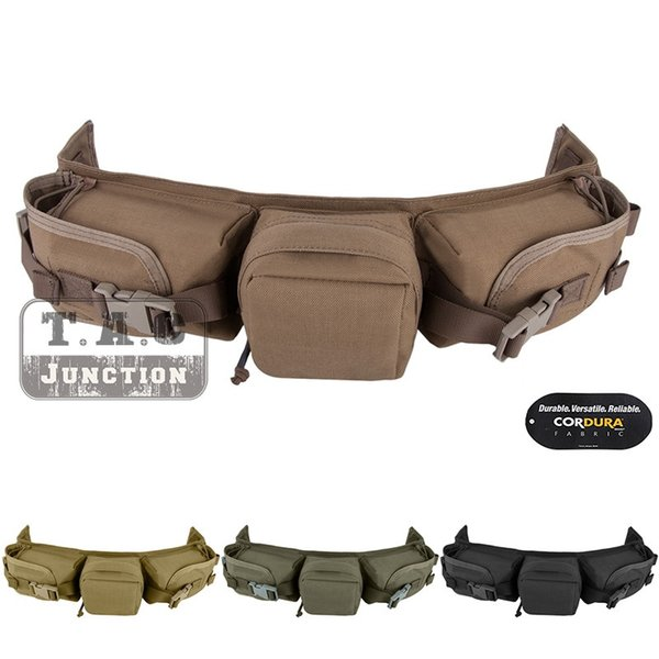 EmersonGear High Speed Sniper Taille Gürteltasche Aufbewahrungstasche Emerson Tactical Magazine Ammo Pouch Militärausrüstung # 214314