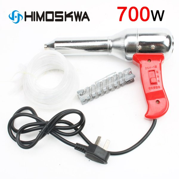 700W plastik kaynak hamlaç sıcak hava tabancası 100-450 derece 220V-240V mevcut 50-300L Minimum ayarlanabilir ısı araçları voltaj