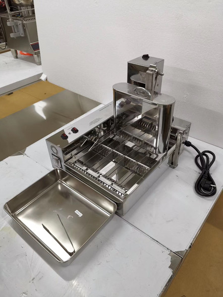Free Shipping Automatic Donut Maker/Donut Fryer/4 rows of mini doughnuts machine