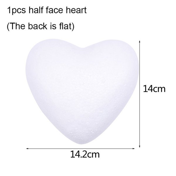 Yarım kalp B06-1pcs