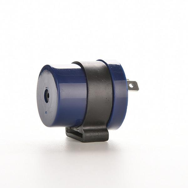Indicatore di direzione Moto Blu Integrato Segnale lampeggiatore Indicatore di direzione LED Lampeggiante 2 pin Motore Buzzer Lampeggiatore Indicatore relè Ingresso CC 6 V 12V