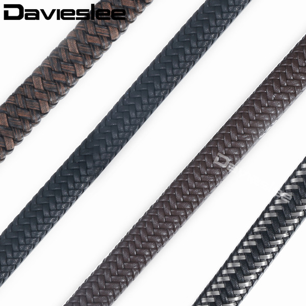 wholesale Jewelry Findings Microfiber Leather Rope String Chains For DIY Jewelry Making Accessories Bracelet Men 12mm LALF01