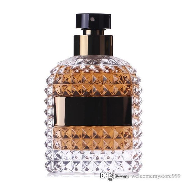 Botella de perfume intenso UOMO fragancias para hombres Buena calidad EDT 100 ml Spay perfime Fragancia persistente y agradable Envío gratis entrega rápida