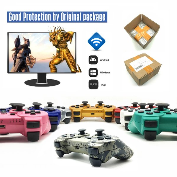 Bluetooth Controller For PS3 Gamepad for Play Station 3 Joystick Wireless Console 3 ps3 Controle Gifts