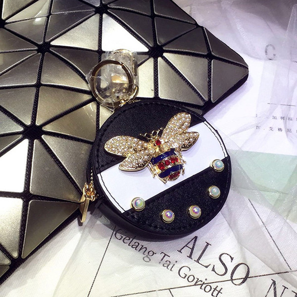 Rosa sugao moeda bolsa bonito bolsa de moedas meninas chave pouch mini designer bolsa pequena carteira zippy coin purse designer chave titular bolsa 070510