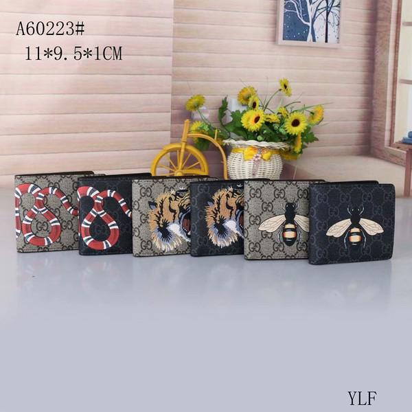 Marka Sıcak Yeni pu deri çanta çanta Messenger çanta omuz çantası çanta arı kaplan yılan kat cüzdan