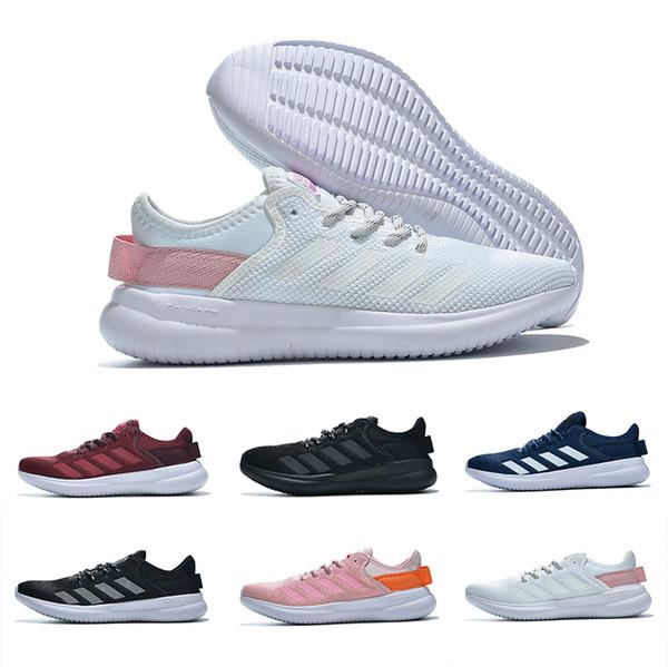 Işık wight Satış NEO cloudfoam SAF Rahat Koşu Ayakkabıları için Yüksek kalite Siyah Gri Pembe Erkek Kadın Rahat Eğitim spor Sneakers 35-44