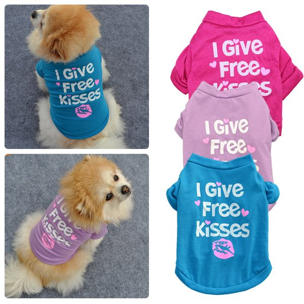 Summer Dog Clothes for Small Dogs Clothing for Cotton Pet Dog Shirts Clothes for Dog Pet Chihuahua Apparel Clothing