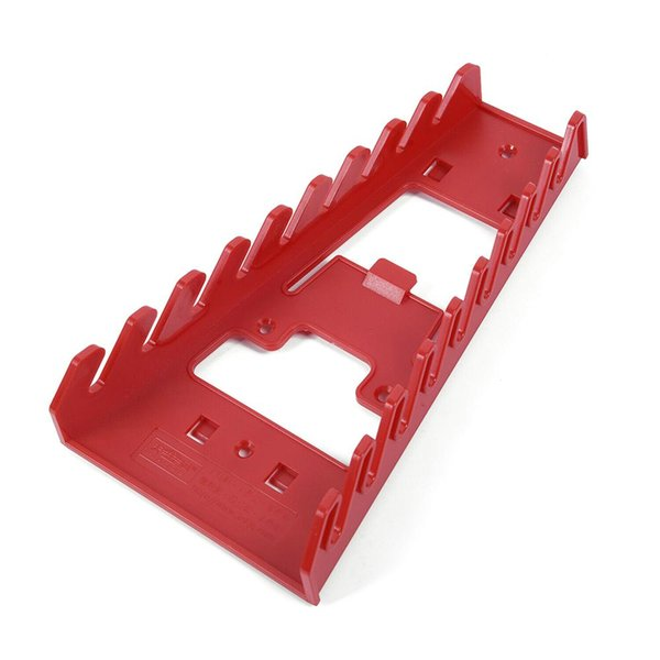 Red Spanner Rack Wrench Holder Storage Rack Rail Tray Wrench Organizer Tool New