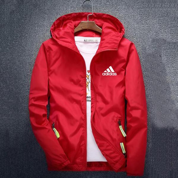 best selling Fashion Brand Mens Jackets Coat Autumn Designer Hooded Jacket With Letters Windbreaker Zipper Hoodies For Men Sportwear Clothes