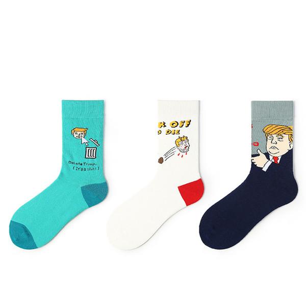 Мода 12 пар / 1 лот Модные хлопчатобумажные носки личности козырь мужские носки и женские носки в цилиндре спорта знаменитости T2B5010