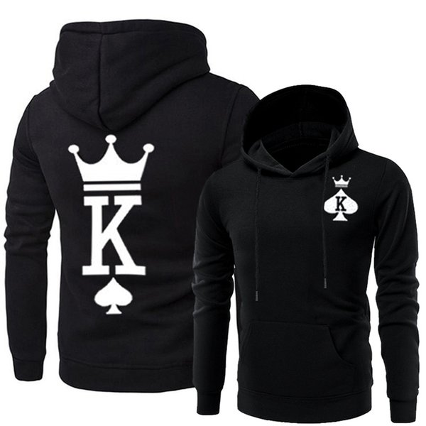 Couples Matching Clothes Men Women Queen King Hoodies Designer Hooded Sweatshirts