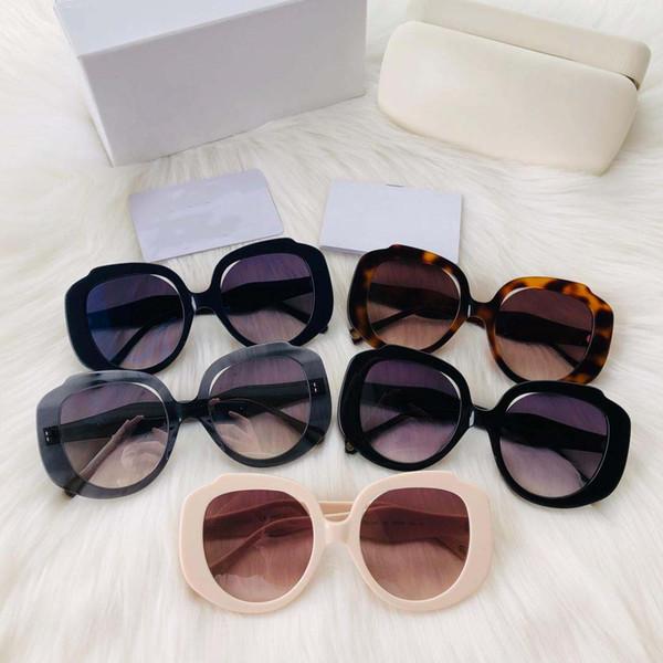 NUEVO Gafas de sol populares capaces de moda 744 montura de ojo gafas de protección simple y de estilo de alta calidad con caja