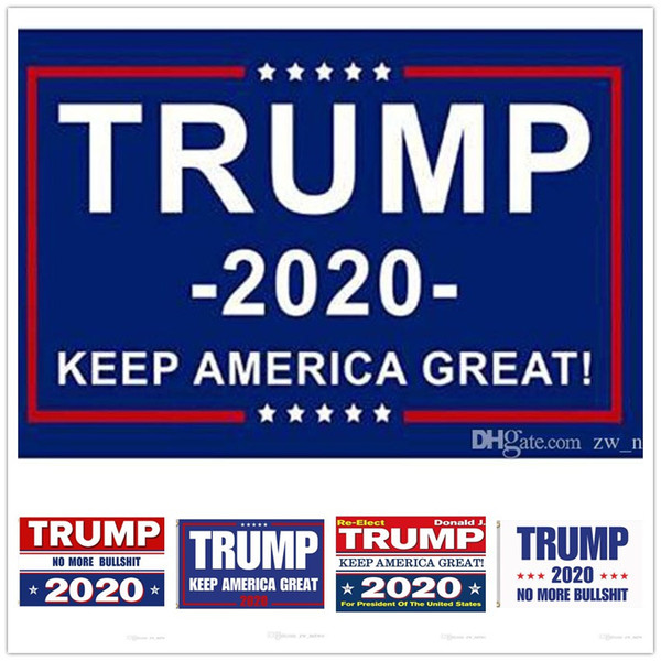 best selling 1000pcs Cheapest Trump Flags Trump 2020 Keep American Great Again Flag Banner USA President Election Flags