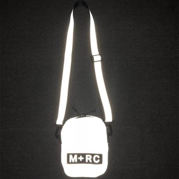 2019 New M RC NOIR Skateboards Bag Attractive Cute Casual Mens Shoulder Bag Mobile Phone Packs Storage Bag Reflective Messenger Bags