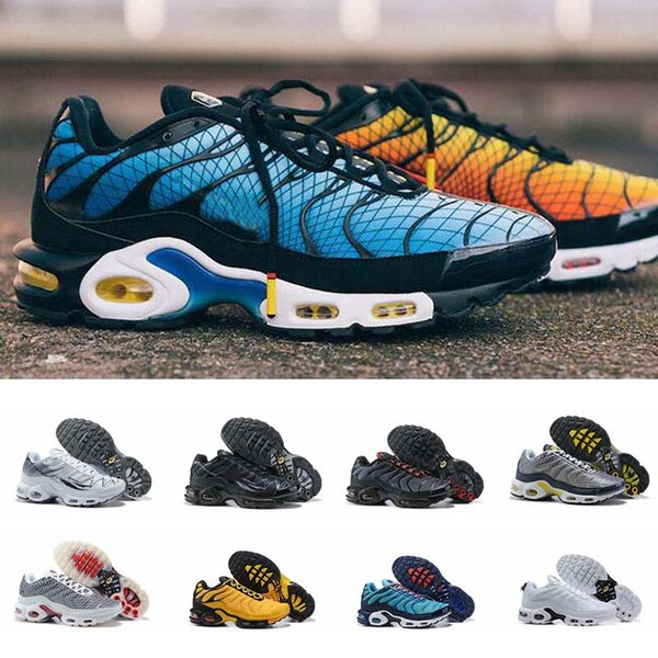 Acquista Nike Air Max Plus Tn 2019 Chaussures Tns Se Greedy Running Shoes Trainers Ultra Plus OG SE Pack Sneakers Zapatillas De Sports Size 40 46 A