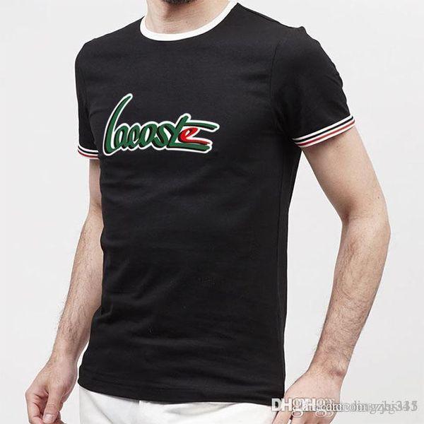 corta da uomo - maniche corte T - shirt stampata con un colletto tondo tigre larghi abito estivo 1024