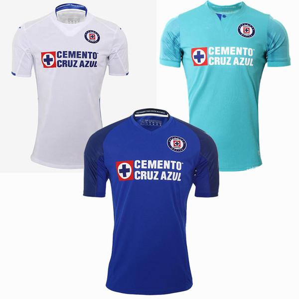 Liga mx 2019 2020 cruz azul occer jer ey home away 3rd 19 20 football men an kid hirt 4xl
