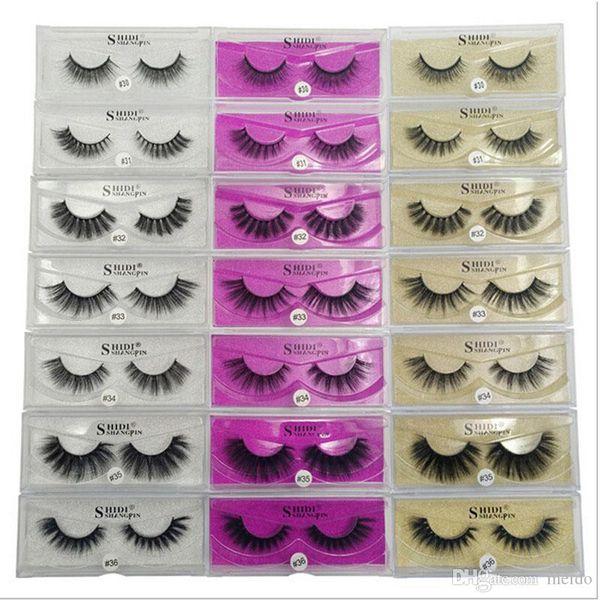 3D Artificial Mink Lashes Thick Imitation Mink False Eyelashes Natural for Beauty Makeup Extension Fake Eyelashes False Lashes 3001221