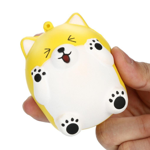NEW rare squishy cat 8*5.5*6cm animal squishy toy slow rising toy Stress Reliever squeeze free shiping