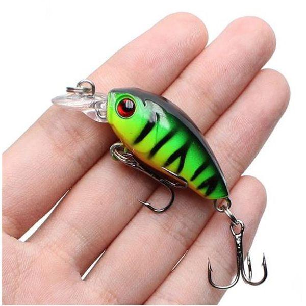 45mm 4.1g Mini Crankbaits Fishing Lure Topwater Artificial Japan Hard Baits Minnow Crank Bait Swimbaits Trout Bass Carp Fishing Tackle