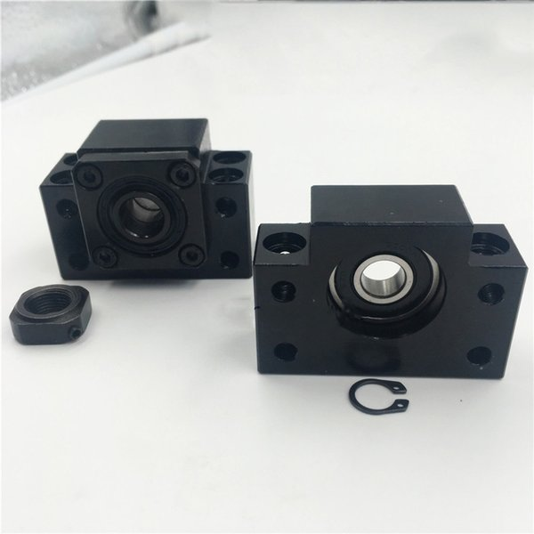 BK BF10 12 15 17 20 25 30 35 40 Bearing block End Support for SFU Ball Screw Support C7 CNC Parts XYZ Axis