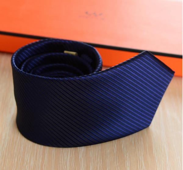 Sommer neue Herren Business 8CM Krawatte High-End-Kleid gestreifte Krawatte