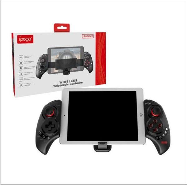 VIP ipega PG-9023 Gamepad Android Joystick para teléfono inalámbrico Bluetooth Telescopic Game Controller pad / Android IOS Tv Tablet