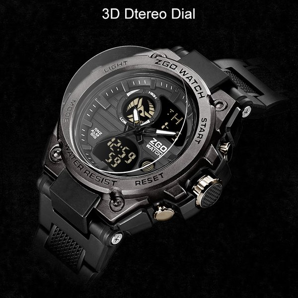 2019 New Sports Men's Watches Top Brand Luxury Quartz Watch Men Waterproof S Clock For Male relogio masculino