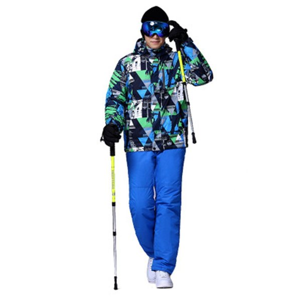 Man Ski Suit Winter Warm And Windproof Waterproof Outdoor Sports Snow Sports Hot Brand Ski Equipment Jackets And Pants