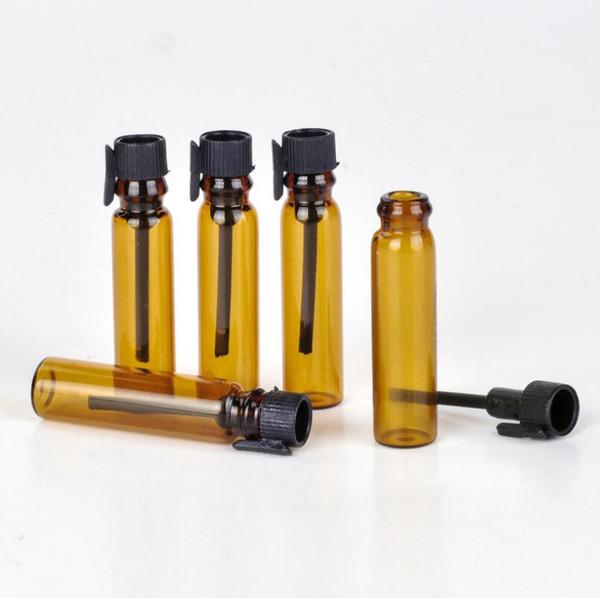 Ambre 1ML ROLL Rechargeables SUR parfum PARFUM DE VERRE BOUTEILLES HUILE ESSENTIELLE Bouteille Bouteilles de parfum LX5929