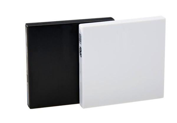 Taşınabilir USB 2.0 Slim Harici CD / DVD-RW / CD-RW DVD Burner Yazar Mac PC için PC için Sürücü Yüksek Kalite