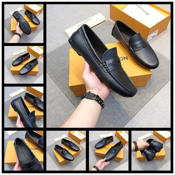 Moda nuevos hombres de punta cuadrada de charol negro con púas Bowtie Red Bottom Oxfords Business Shoes Diseñador de zapatos de vestir de boda 38-44