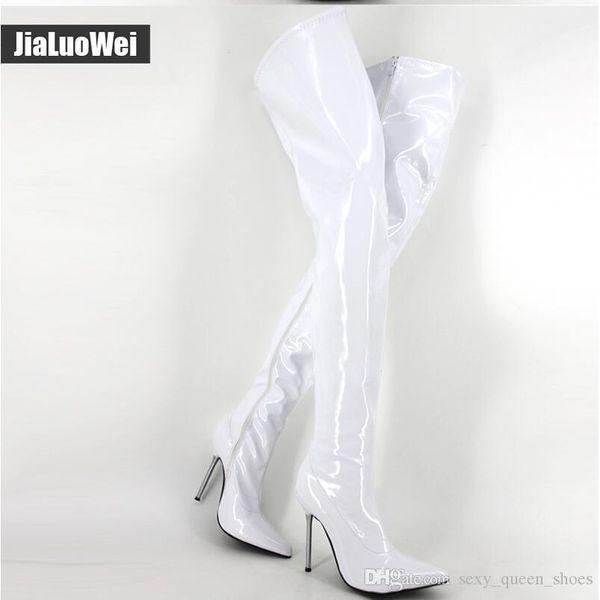 White shiny