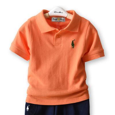 Kurzarm Orange