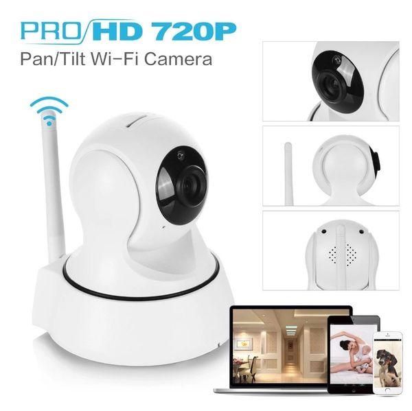 Sıcak Kablosuz 720P Wifi Video Kamera SANNCE Ev Güvenlik Akıllı IP Kamera Gözetim Gece Görüş CCTV Kamera cep telefonu App Bebek Monitörü