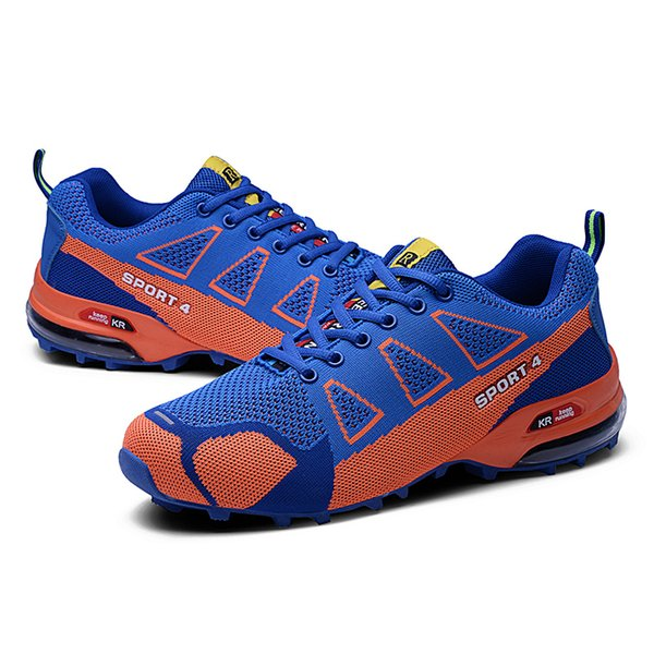 Men's Hiking Shoes Lightweight Montain Men Antiskid Cushioning Outdoor Sneakers Climbing Shoes Male Breathable Shoes
