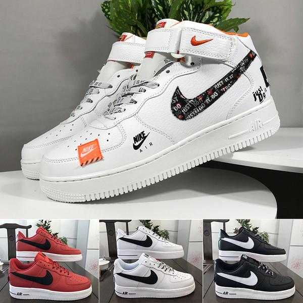 Compre Nike Air Force 1 2018 Alta Calidad Campo Especial SF Para Hombres, Mujeres, Botas Altas, Zapatillas De Deporte, Zapatillas De Deporte, Botas De