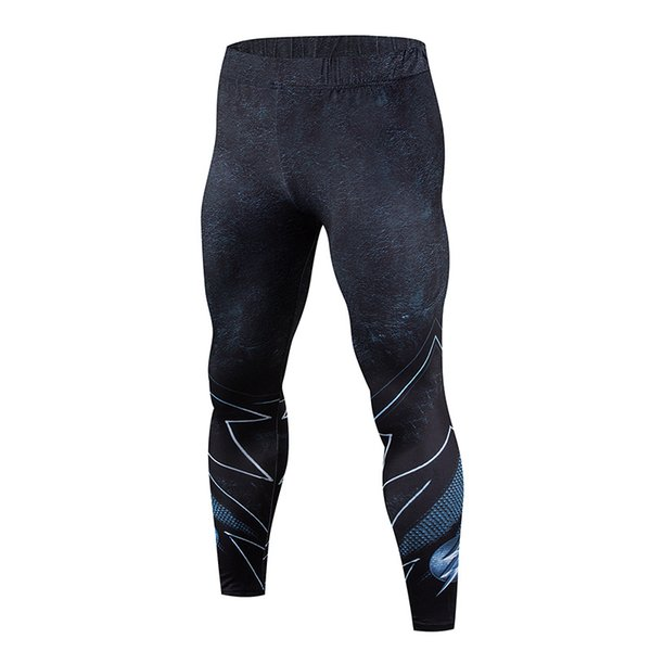2018The latest model, the cheapest 3D printing men's pants fashion jogger men's bodybuilding fitness Crossfit pants soft legging