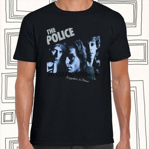 The Police Rock Album Cover Hommes T-Shirt Noir Taille S M L XL XXL XXXL