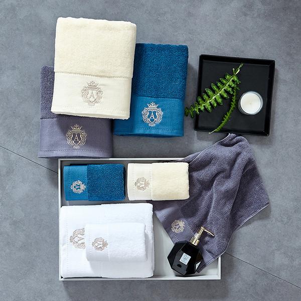 Остин банное полотенце комплект 100% хлопок удобная водопоглощение хлопок банные полотенца для взрослых